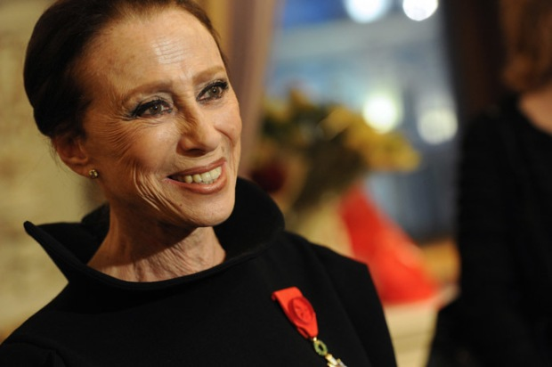 Order of Legion of Honor presented to Maya Plisetskaya